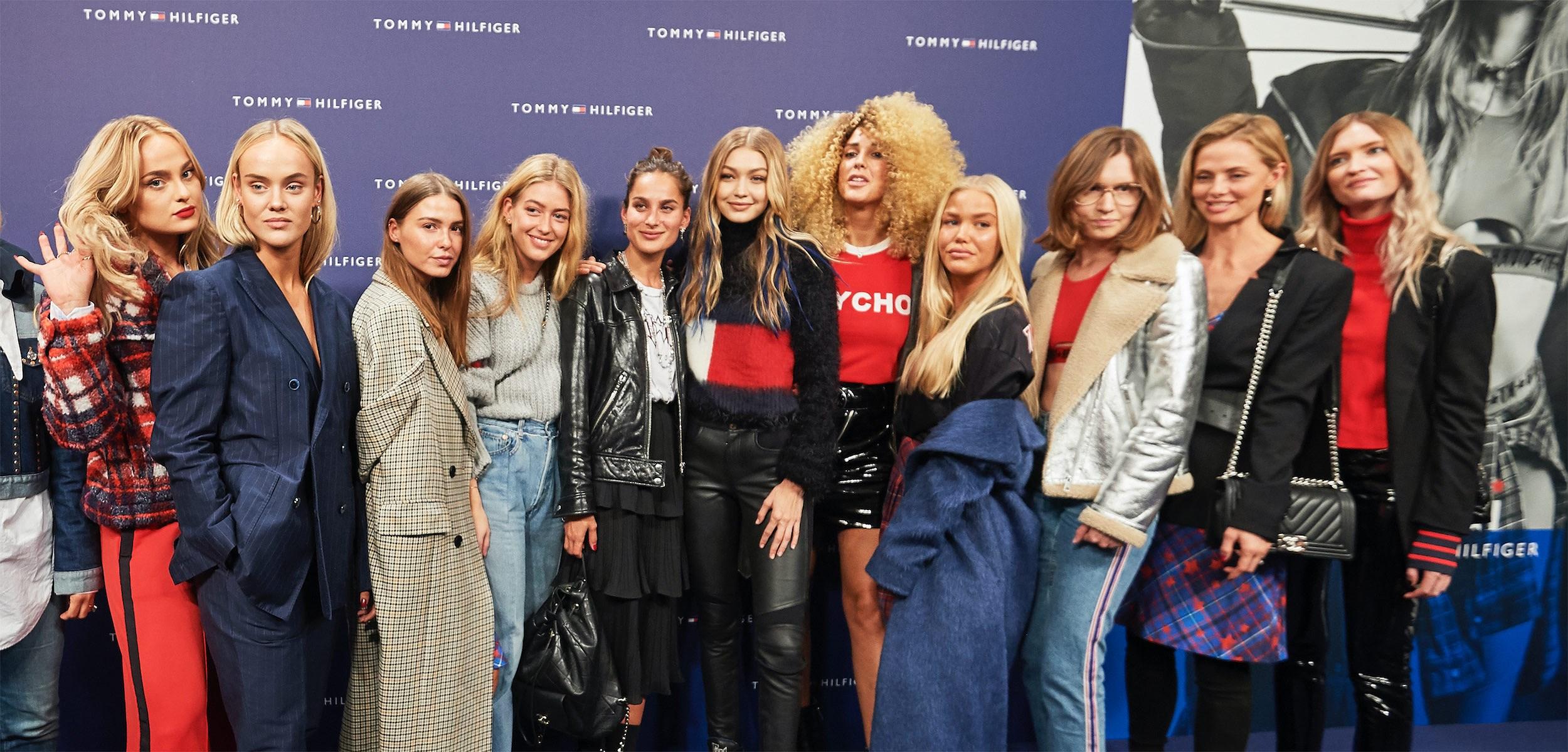 Gigi Hadid tog sin #TogetherTour till Köpenhamn